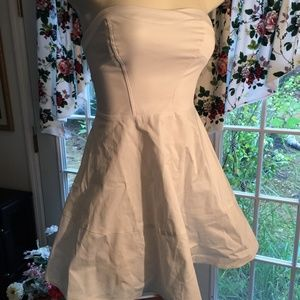 Express - White Sleeveless Dress Size 0